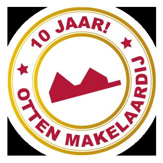 Otten Makelaardij viert 10-jarig jubileum